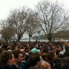 Putney boat race crowd