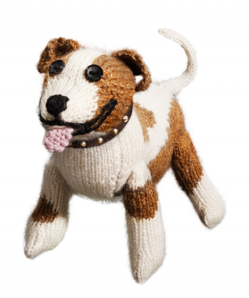 Staffies are Softer thank you think - Knitting Pattern